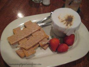 blogbirthday dessert
