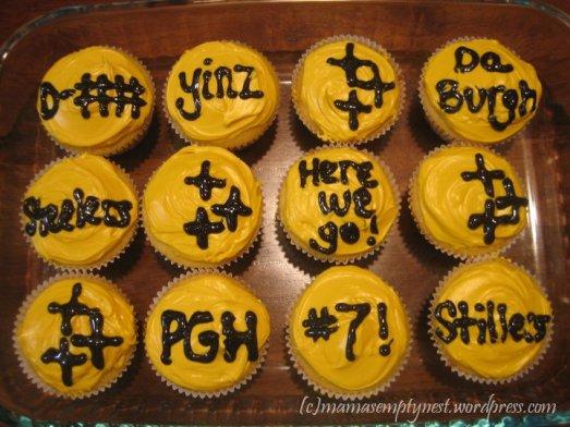 blogSteeler cupcakes