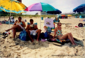 The last family beach vacation  - 2005