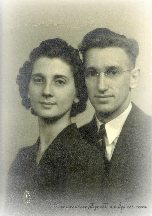 My parents wedding photo