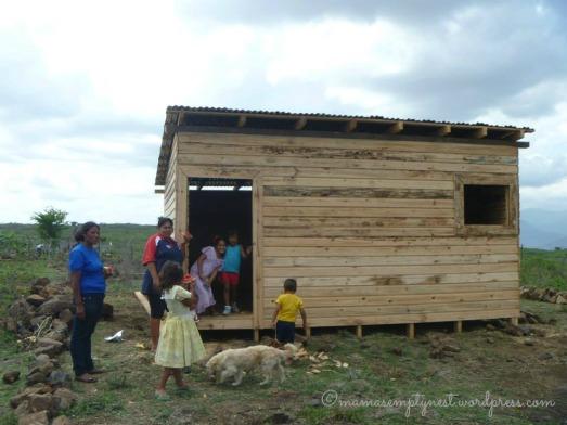 A new home in Honduras